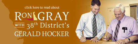 Gerald Hocker endorsing Ron Gray for Delaware 38th District State Representative