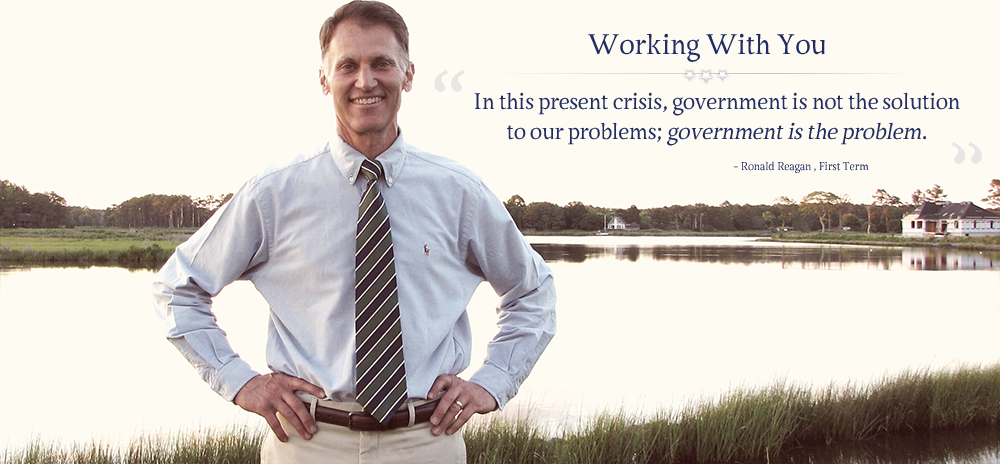 Ron Gray, Working with you on issues that matter to Southern Delaware